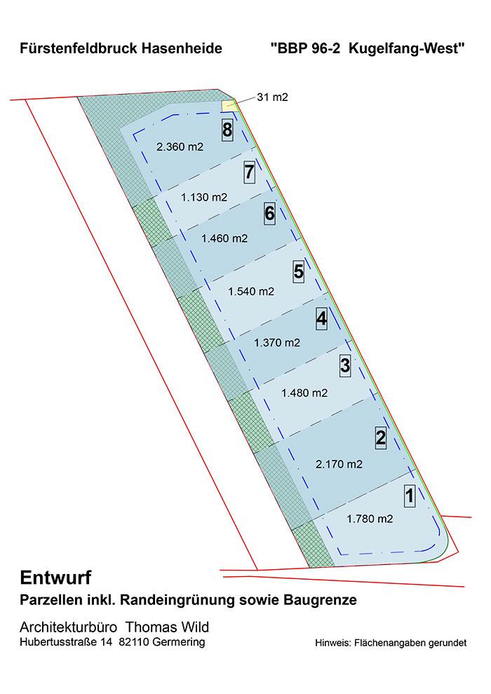 Plan von Kugelfang West